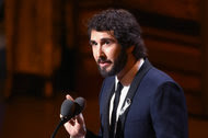 Josh Groban was among those using social media to voice their objections to the implicit career guidance.