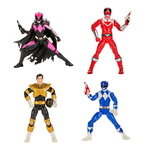 Image of Power Rangers Lightning Collection Wave 5 - 6-Inch Action Figure Set of 4 - JUNE 2020