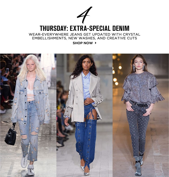 THURSDAY: EXTRA-SPECIAL DENIM