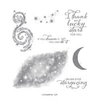 Stargazing Cling Stamp Set