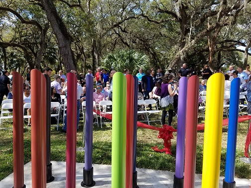 The City of North Miami Honors LGBTQ Community With Sculpture