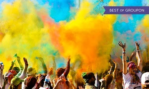 Up to 67% Off 5K Registration for Color In Motion 5K