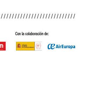 Con la colaboracion: Air Europa. Gobiernod e España