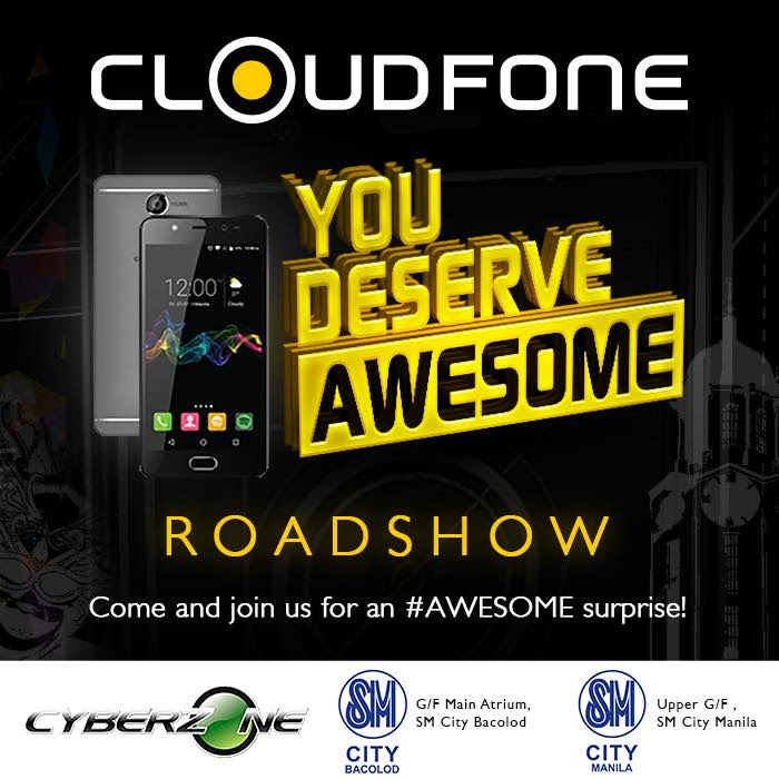 cloudfone awesome-roadshow