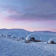 Observatório Kjell Henriksen # 1 [KHO], Adventdalen, Ilha Spitsbergen, Noruega