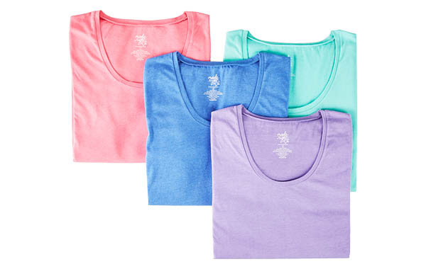 Scoop Neck T-Shirts