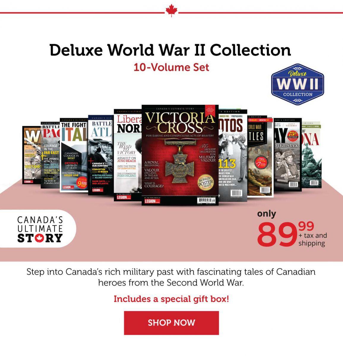 Select your custom 10-volume set