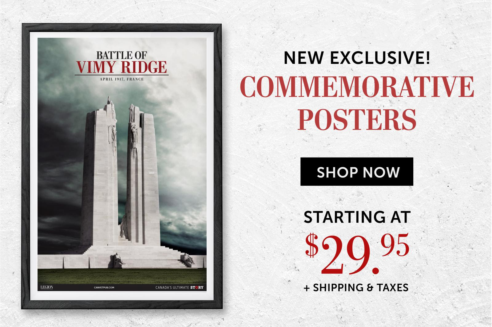 vimy posters