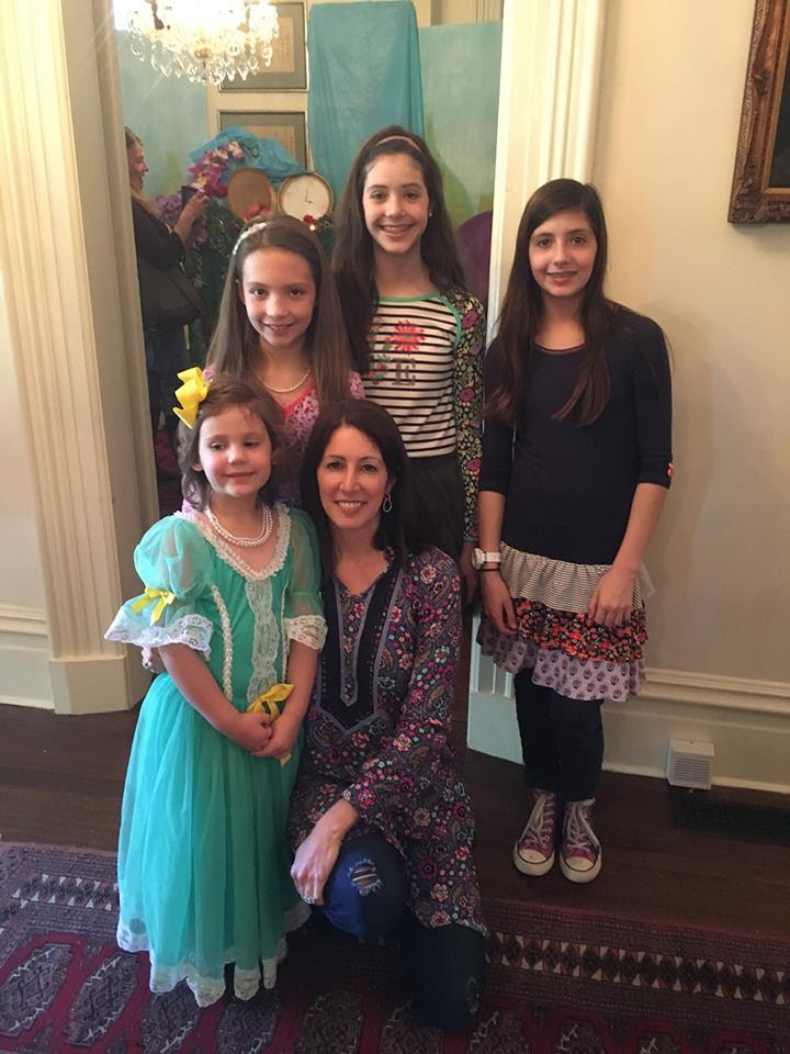 Pictured are Clara Vaughn, Annabelle Vaughn, Adelaide Shirley, Anna Camden Shirley, and Robyn Shirley
