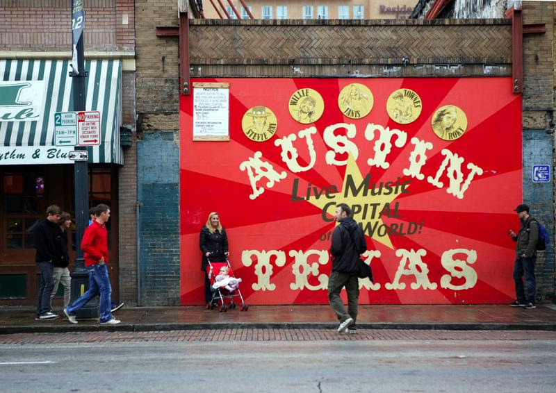 Austin, Texas, always has live music to enjoy