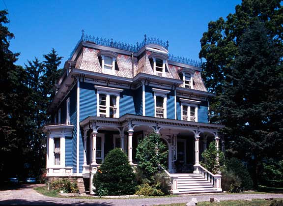 The Mansard Roof and Second Empire Style - Old House Journal Magazine