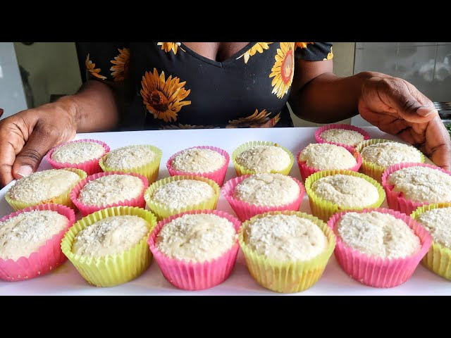 Sisiyemmie Vlogs ,quick and easy coconut cupcake recipe