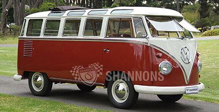 1960 Volkswagen Kombi '23 Window' Samba Bus (RHD)