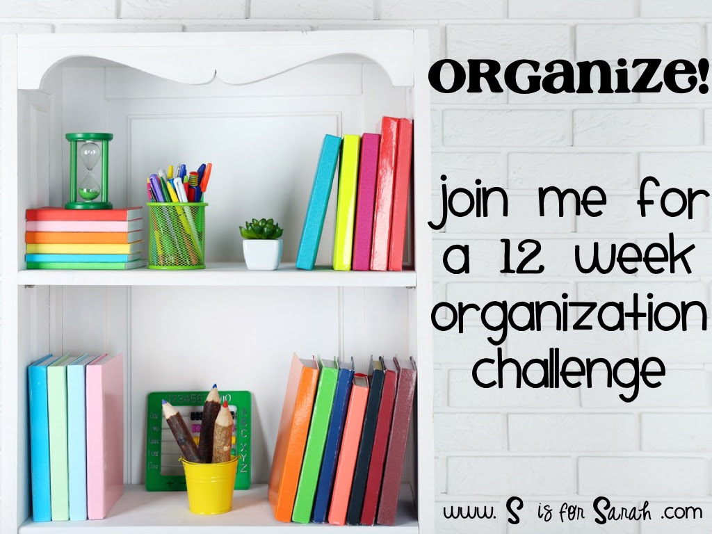 Free 12-Week Organization Challenge