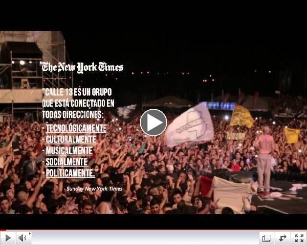 Calle 13 - Primera Parte de la Gira MultiViral
