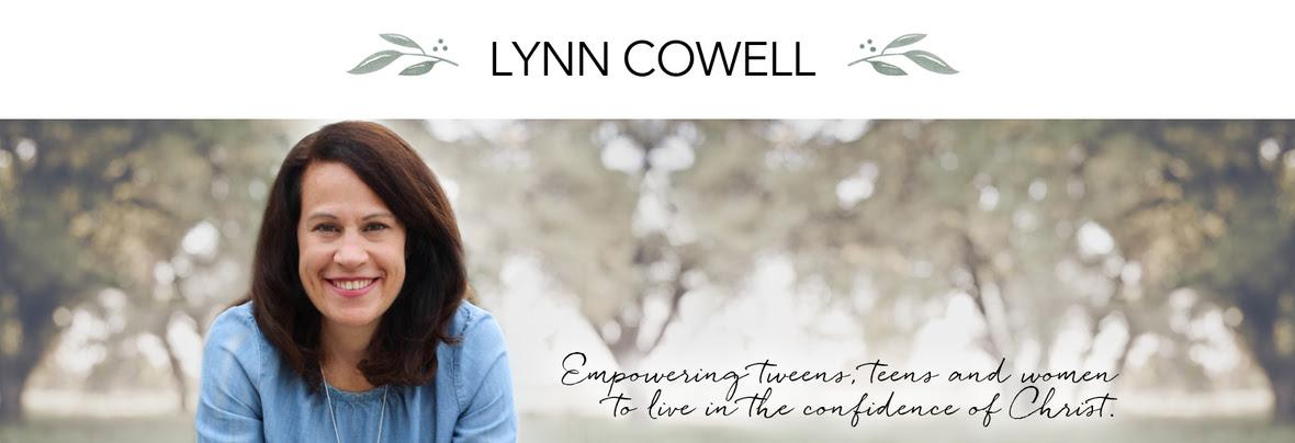 LynnCowell website header