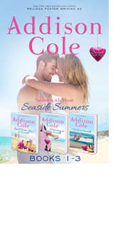 Sweet with Heat: Seaside Summers Books 1–3