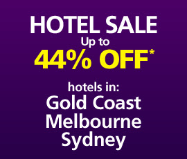 Webjet hotel sale up to 44% off the Gold Coast, Melbourne + more