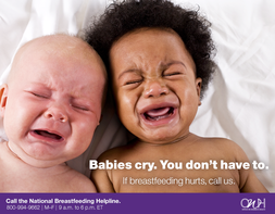 Babies cry. You don't have to.