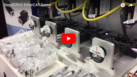 StepSERVO EtherCAT Demo