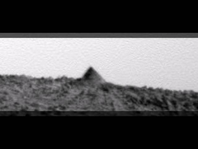 Mars - A Pyramid Shape on Spirit Rover Photo  Sddefault