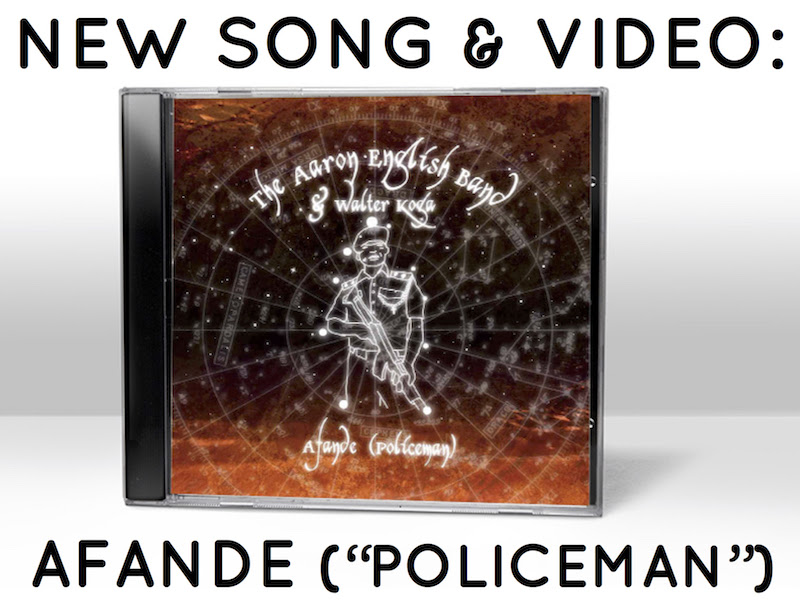 "New song: ""Afande (Policeman)"""