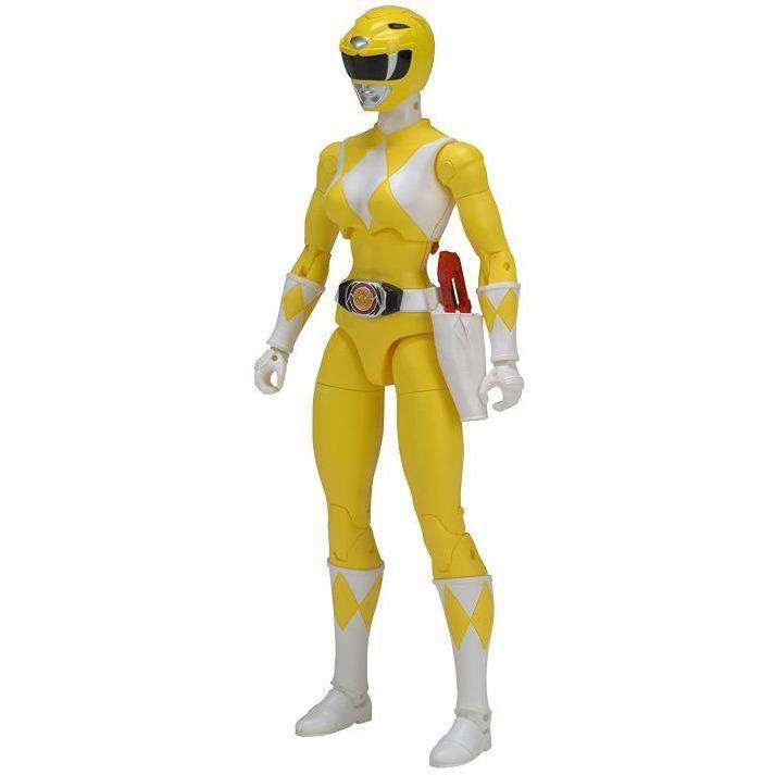 "Image of Mighty Morphin Power Rangers Legacy 6"" Yellow Ranger"