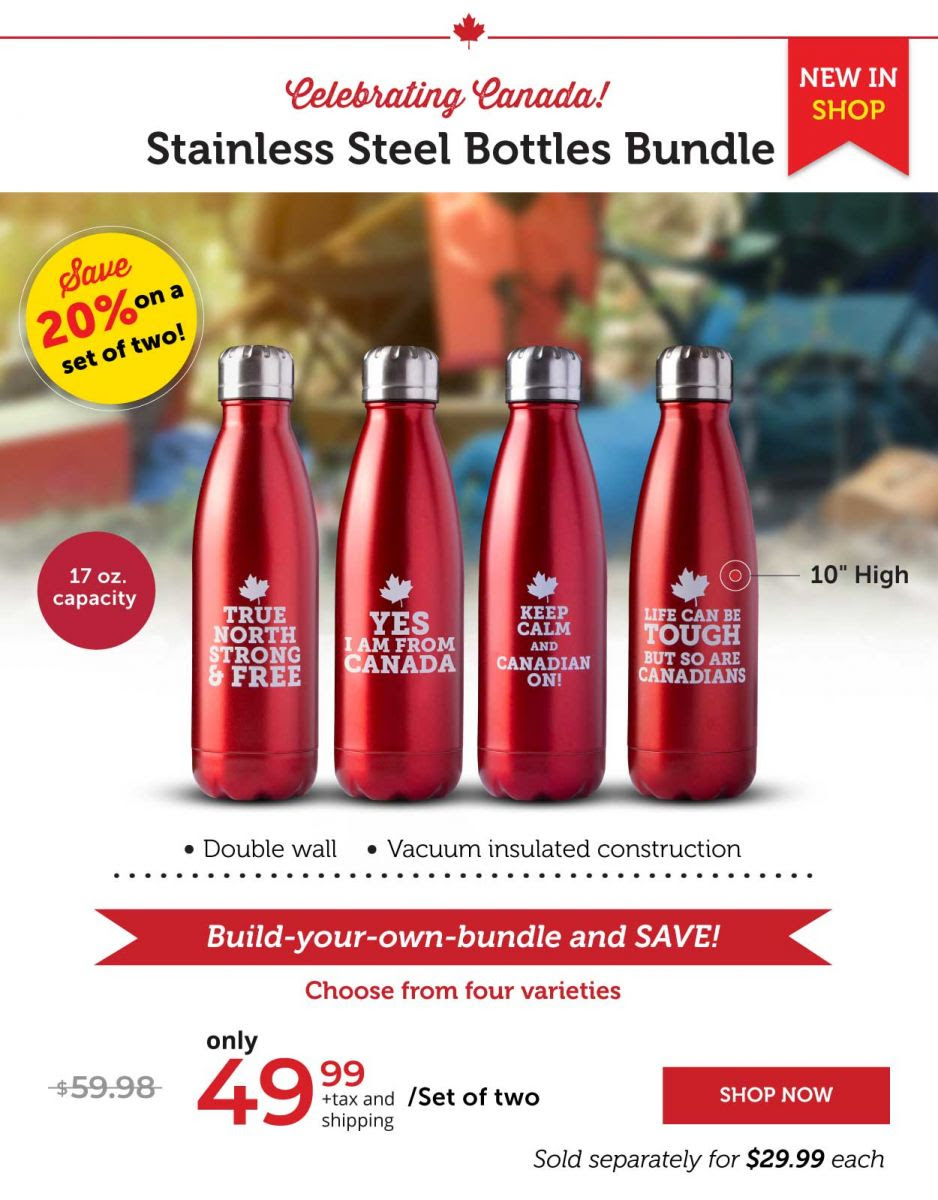 Stainless Steel Bottles Bundle