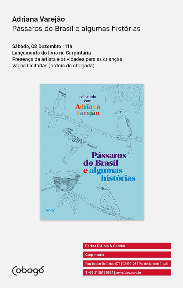 Adriana Varejão | Pássaros do Brasil e algumas histórias