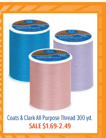 Coats & Clark All Purpose Thread 300 yd