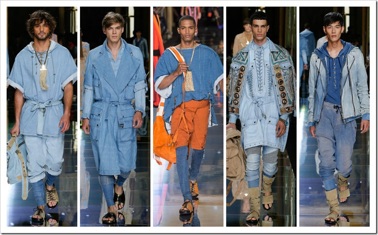 Balmain Spring 2017 Menswear Collection