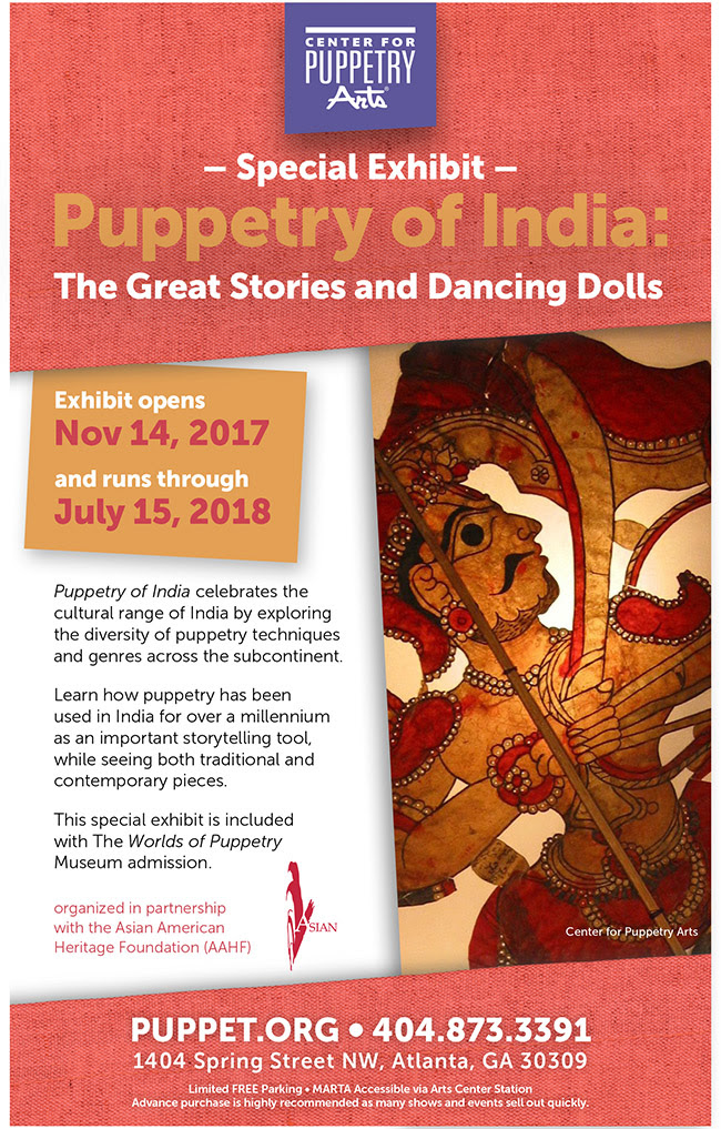 Puppetry of India: The Great Stories and Dancing Dolls