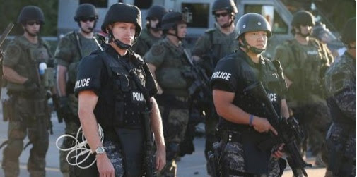 US Militarized Police Provoking War Zones: Ferguson Blood, Tear Gas, Chaos. LA Protest Next?