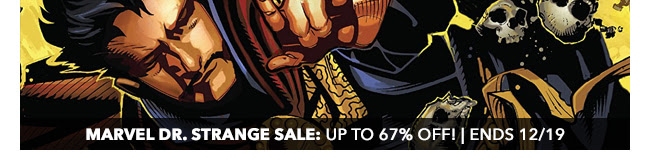 Marvel Dr. Strange Sale: up to 67% off! | Ends 12/19