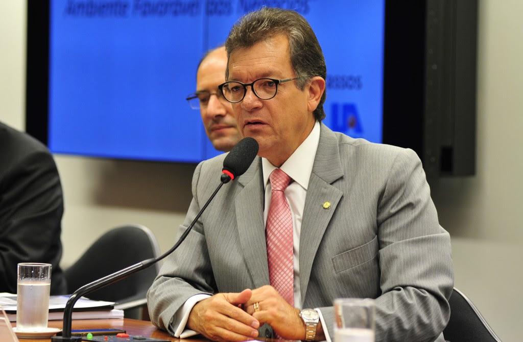 O deputado Laércio Oliveira (SD-SE) é o relator do projeto