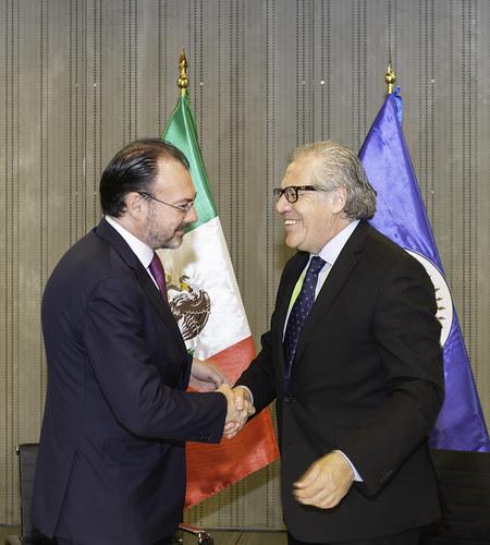 OEA y México firman acuerdo sobre Misión para elecciones del 1 de julio
