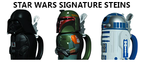 STAR WARS SIGNATURE STEINS