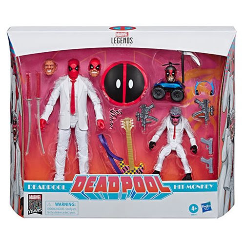 Image of Marvel Legends Deadpool and Hit Monkey 6-Inch Action Figures - Exclusive