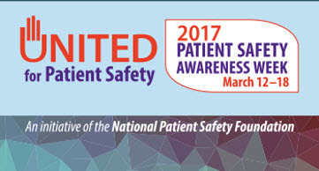 2017 Patient safety week march 12-18