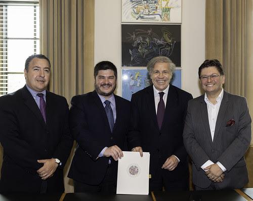 OEA y Alianza Regional por la Libre Expresión e Información trabajarán juntos en defensa de los derechos fundamentales