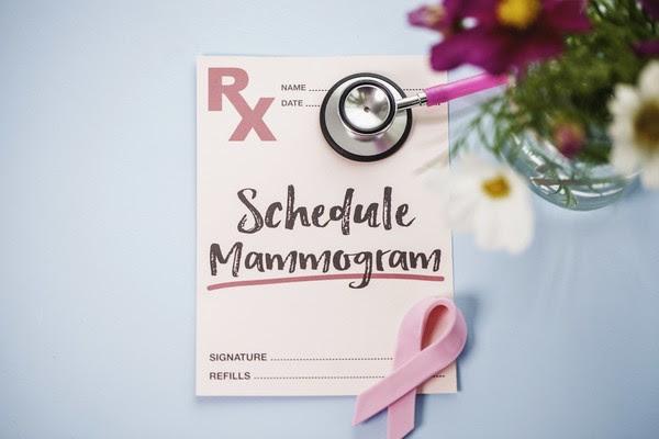 Image of reminder to schedule mammogram