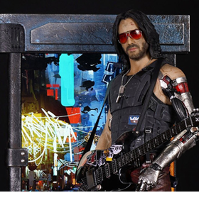 Cyberpunk 2077 Johnny Silverhand 1/4 Scale Exclusive Statue