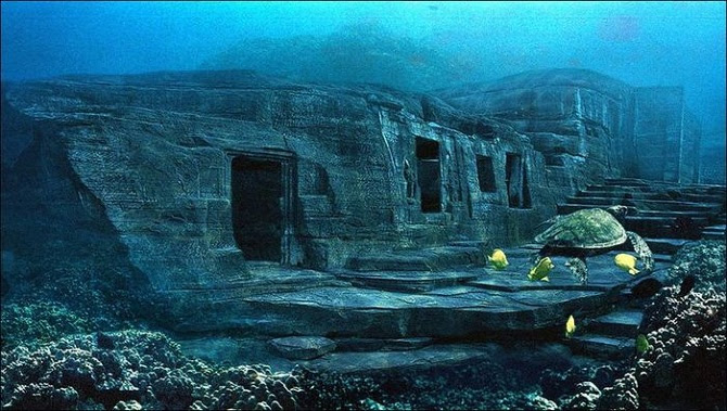 2 yonaguni island japan Educatinghumanity 670 - La historia bajo el mar de las antiguas civilizaciones