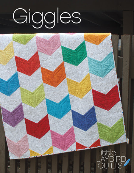 jaybird quilts  giggles baby quilt sewing pattern