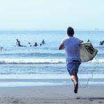 La pratique du surf est en progression constante, comme ici à Yilan dans le nord-est de Taïwan. (Copyright : district de Yilan)