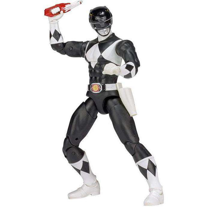 "Image of Mighty Morphin Power Rangers Legacy 6"" Black Ranger - FEBRUARY 2019"