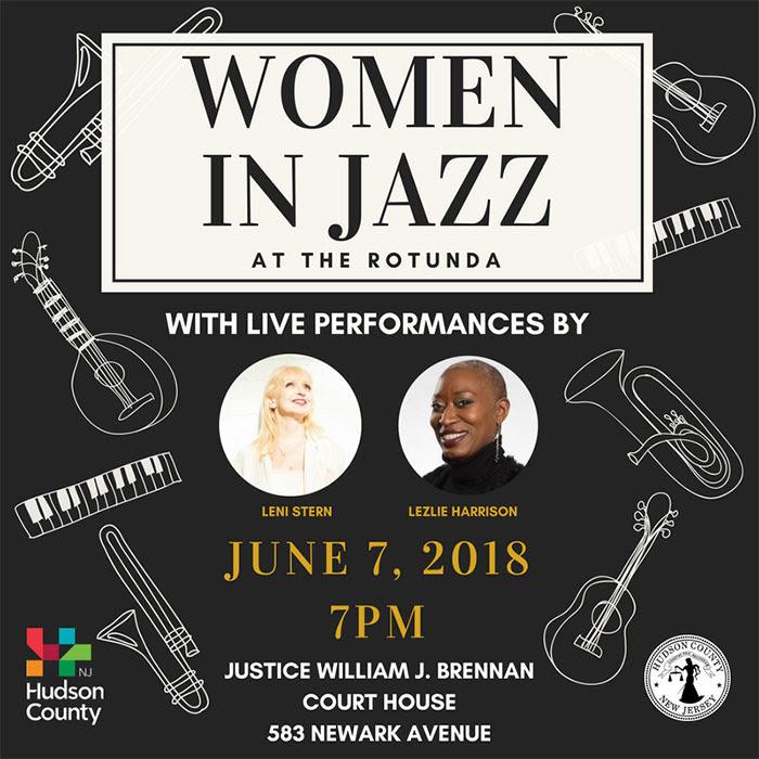 Hudson County | Women of Jazz at the Rotunda