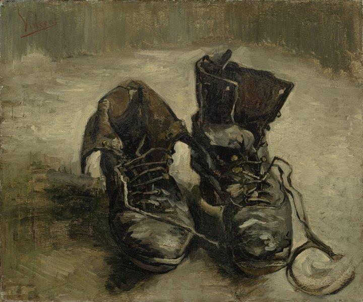 Vincent van Gogh, Shoes