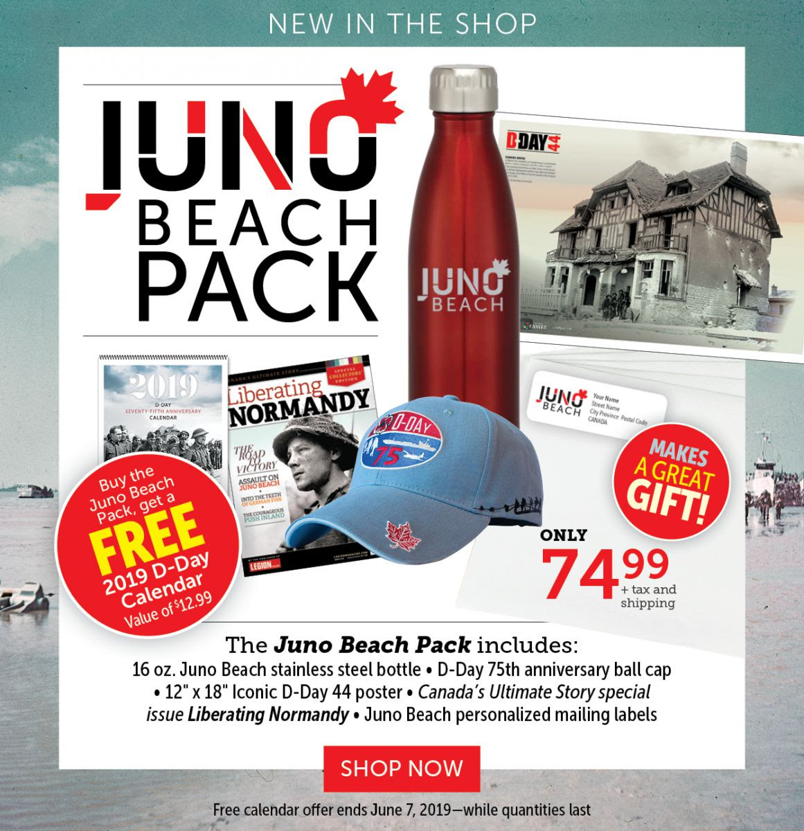 Juno Beach Pack | Limited Time Offer!