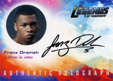 DC's Legends of Tomorrow Trading Cards Seasons 1 & 2 - Autograph Card - Drameh